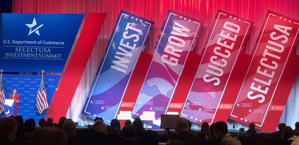 The 2018 SelectUSA Investment Summit is the highest-profile event dedicated to promoting foreign direct investment in the United States