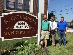 LVEDC Director of External Affairs and Redevelopment Andrew Kleiner in North Catasauqua.