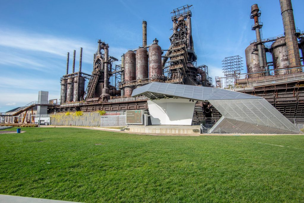 Bethlehem's Steelstacks was heavily featured in a recent story by The World, one of the flagship shows on Public Radio International (PRI).