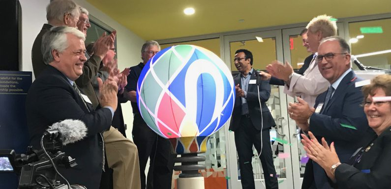 An opening ceremony was held Sept. 27 for the Northampton Community College's new Follett Family Center for Innovation and Entrepreneurship.