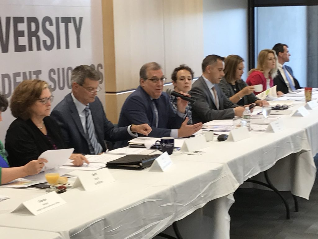 A September 2018 meeting of the LVEDC Education and Talent Supply Council.