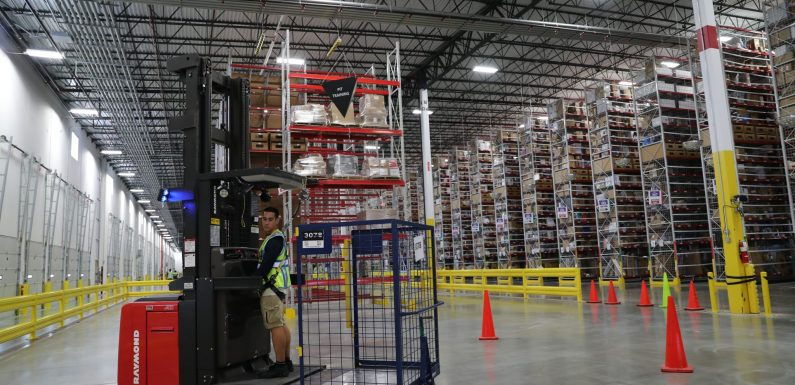 Amazon's growing presence in Lehigh Valley provides
