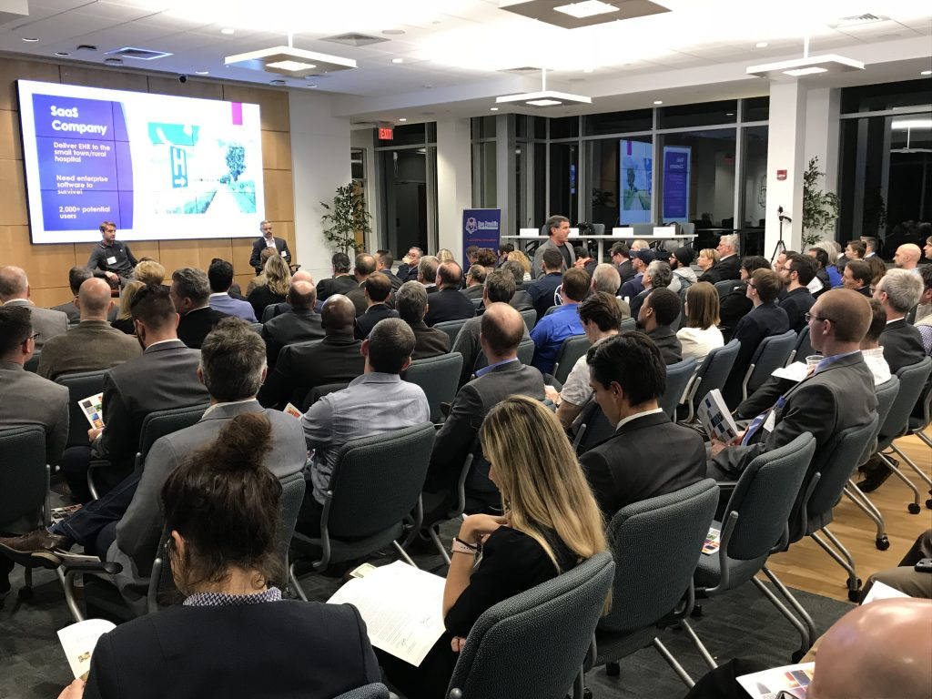 About 300 people attended the sold-out Venture Idol on Nov. 8 at Ben Franklin TechVentures in Bethlehem.