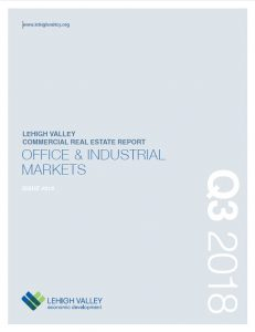 The cover of the new Lehigh Valley Commercial and Industrial Real Estate Report.