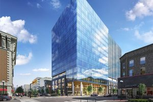 City Center Allentown's rendering of Five City Center, where the June 12 event will be held.