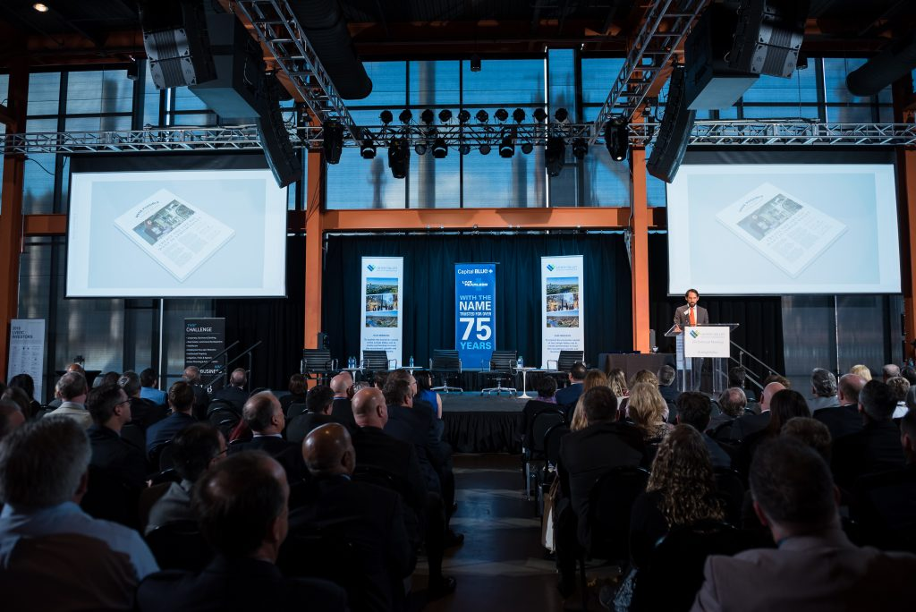 The Lehigh Valley Economic Development Corporation hosted its annual meeting at the ArtsQuest Center at SteelStacks in Bethlehem on March 19, 2019.