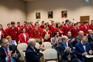 More than 120 studnets participated in the SkillsUSA Council's second annual District 11 Signing Day event at DeSales University.