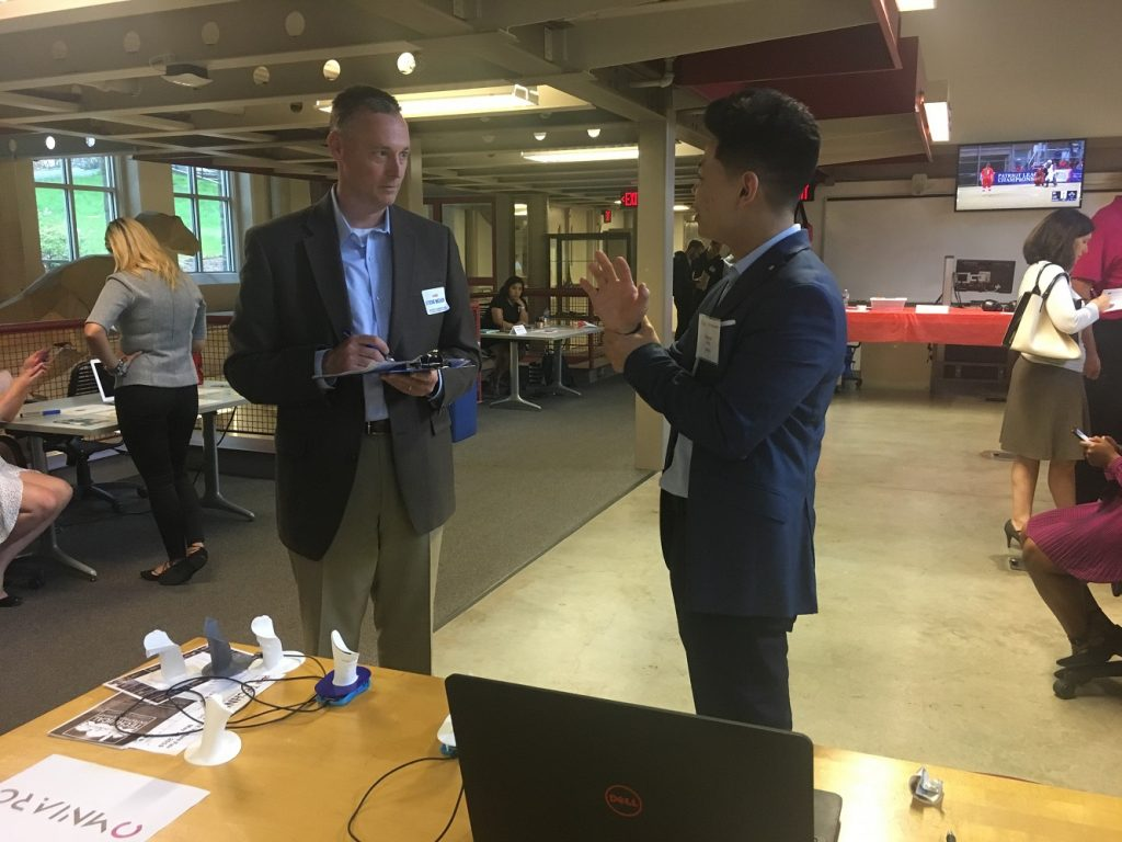 Lehigh University's Technical Entrepreneurship Venture Fair was held on May 10 at the university's Wilbur Powerhouse.