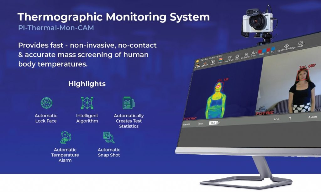 The Wilson borough-based software integrator company Pulse Innovations has developed a new Thermographic Monitoring System product. (image courtesy Pulse Innovations)